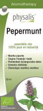 Olejek eteryczny pepermunt MIĘTA PIEPRZOWA BIO 10 ml Physalis