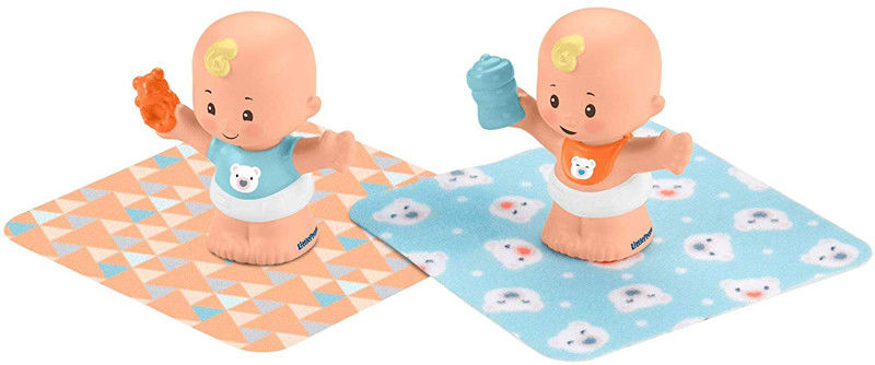 Fisher Price Little People - Bobas figurki bliźnięta GKP68