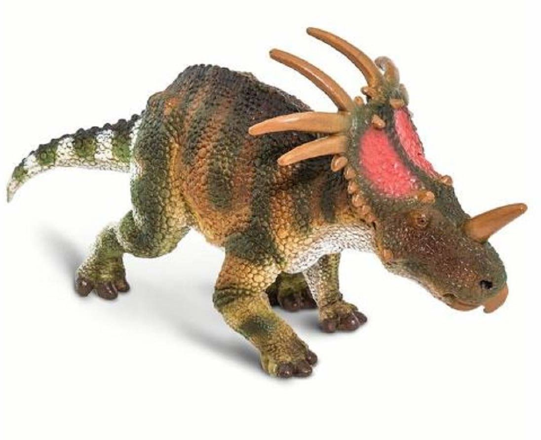 Safari - Styracosaur dinozaur i stworzenia, wielokolorowy (S100248)