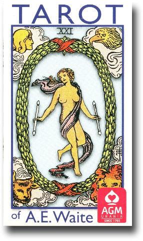 Rider Waite Tarot (standard) Tarot of A. E. Waite
