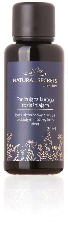 Natural Secrets Tonizująca Kuracja Rozjaśniająca Mini 20 ml