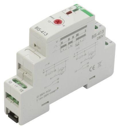Przekaźnik impulsowy z wyłącznikiem czasowym 16A 230V AC 1P BIS-413