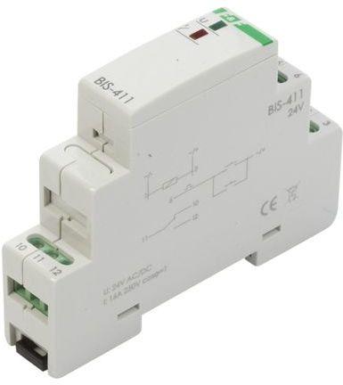 Przekaźnik impulsowy włącz-wyłącz 16A 24V AC/DC 1P BIS-411-24V