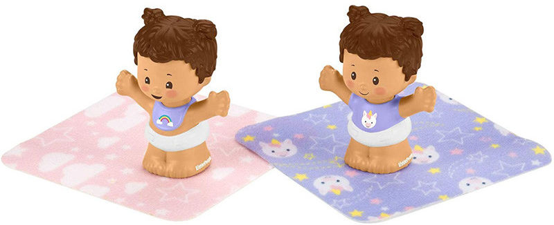 Fisher Price Little People - Bobas figurki bliźnięta GKY44