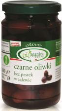 Oliwki czarne bez pestek w zalewie (SŁOIK) BIO 280g BIORGANICA NUOVA