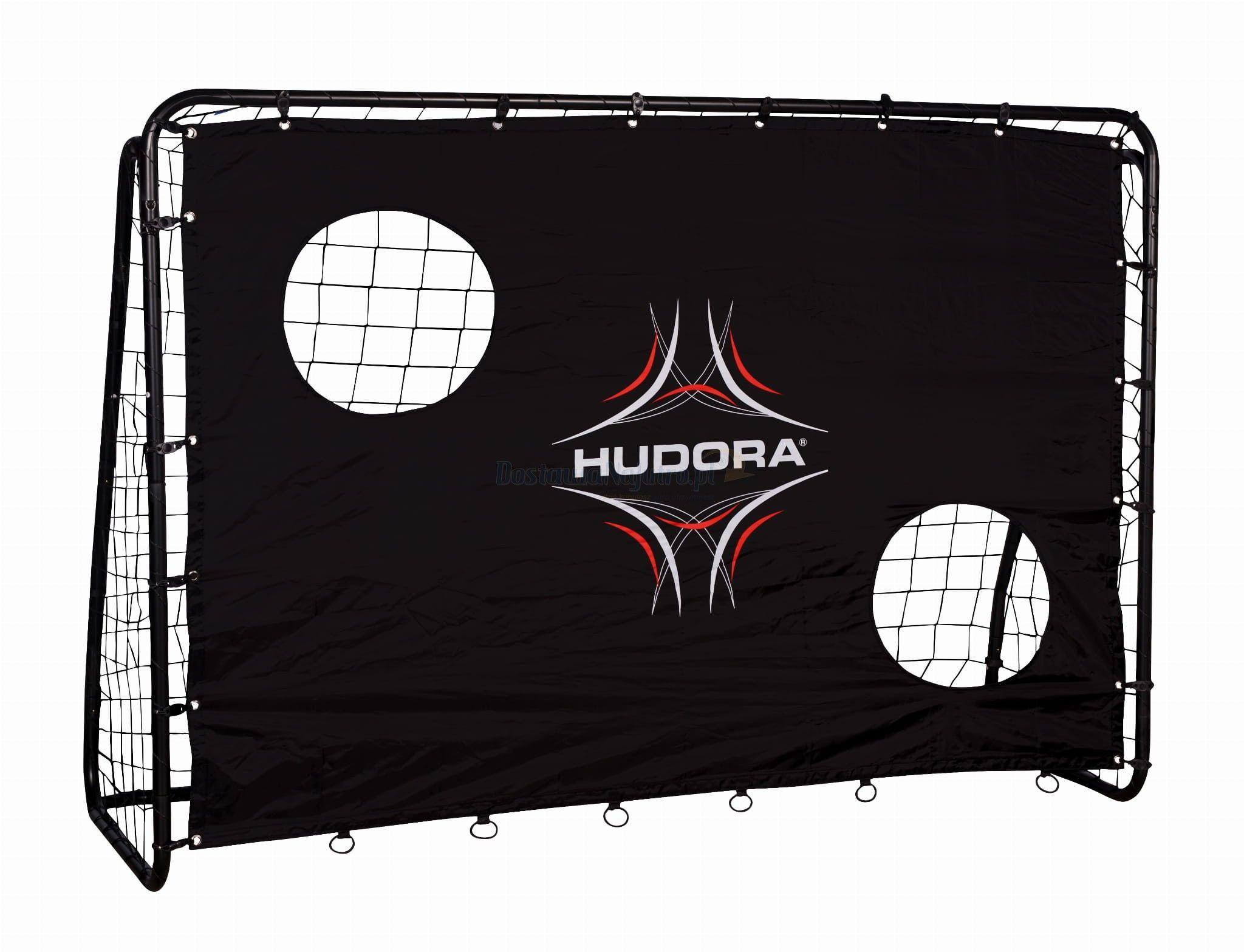 Bramka piłkarska FREEKICK HUDORA + mata 213 x 152 cm czarna