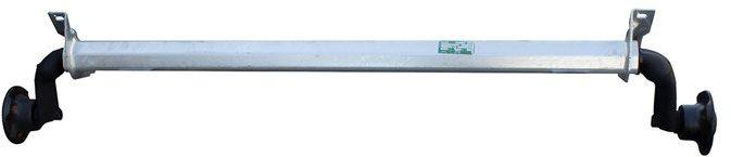 Oś niehamowana do przyczepki AL-KO optima 1240 mm 750 kg 100x4
