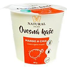 Owsianka bezglutenowa z mango i chia 80g NATURAL