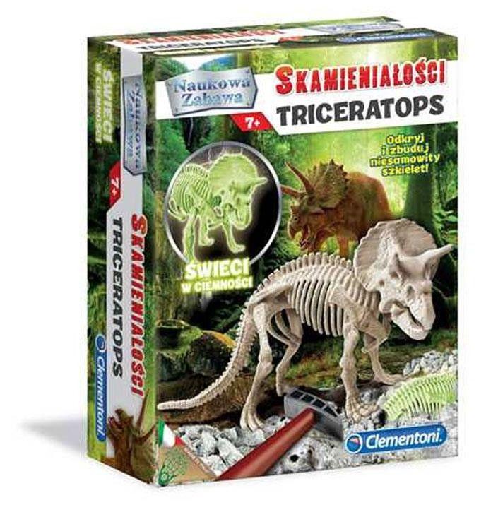 Clementoni - Skamieniałości Triceratops 60892