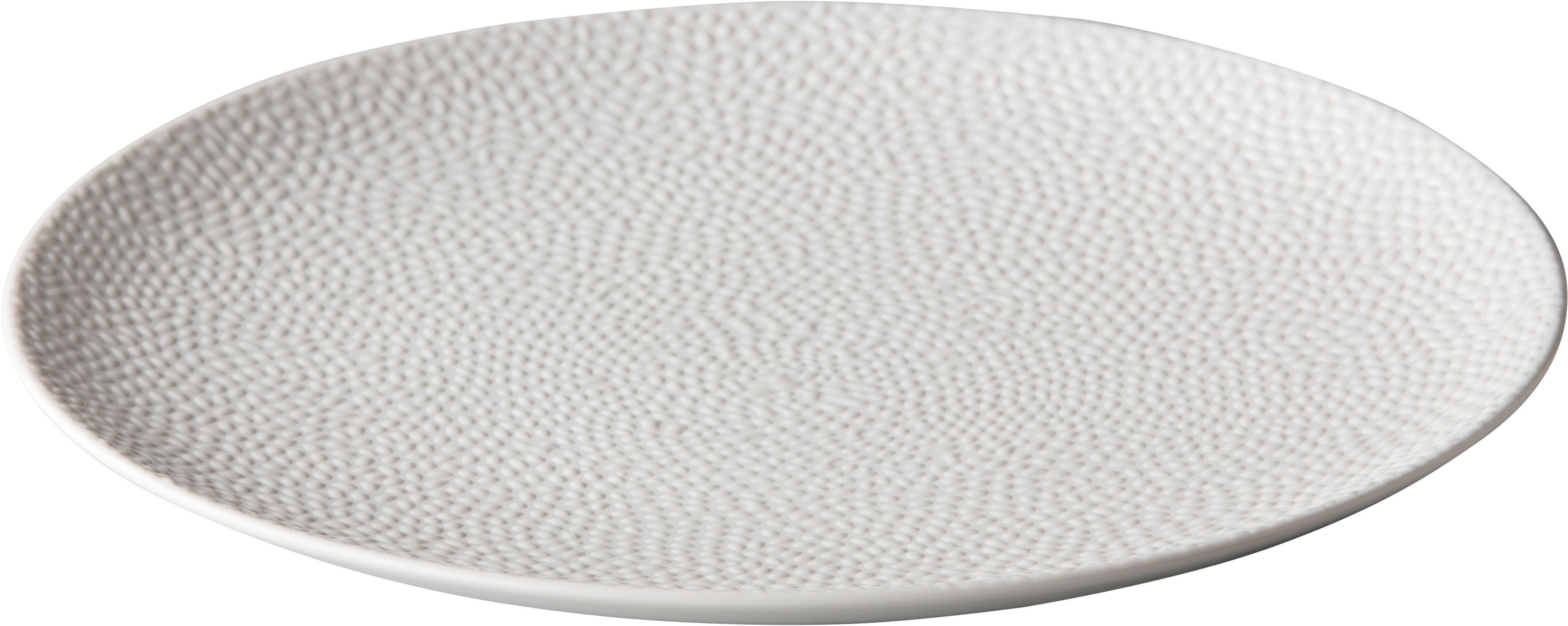 Talerz płytki Honeycomb biały 210 mm porcelana Fine Dine 773246