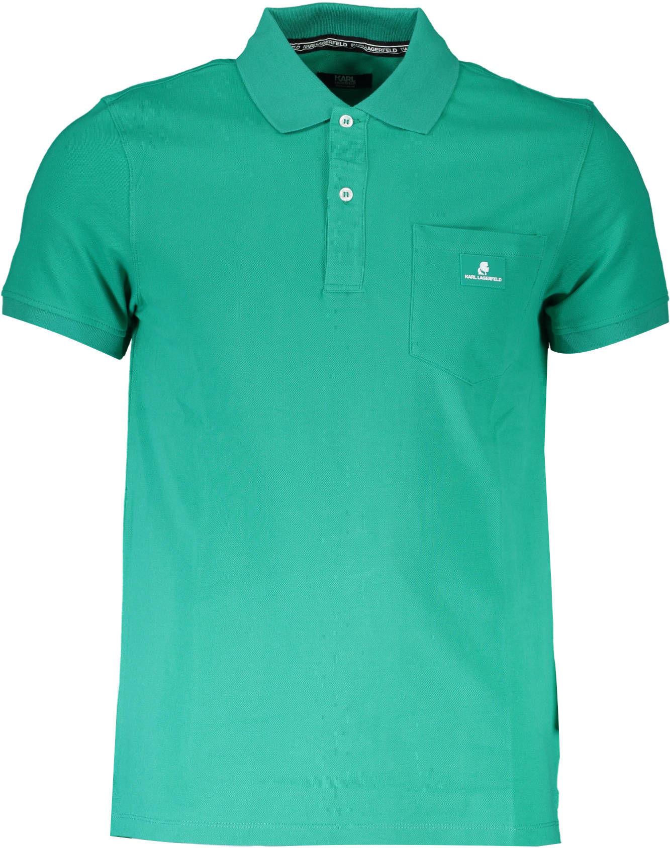 Koszulka polo KARL LAGERFELD BEACHWEAR Krótkie rękawy
