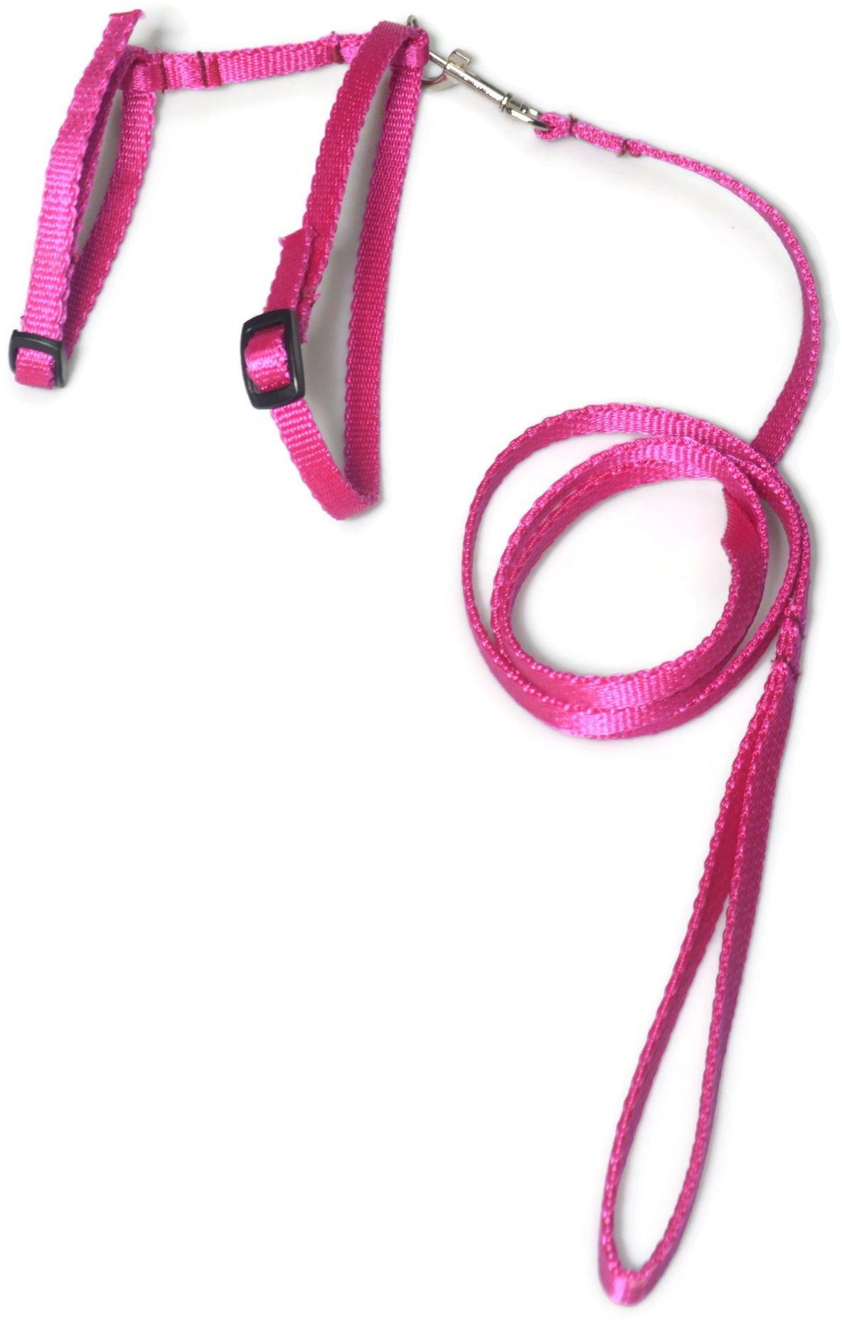 A-059 KOMPLET DLA KOTA V.2 : Kolor - Różowy - ALIZOO