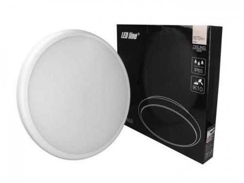 Plafon LED LEDline LUNAR 22W 230V IP65 4000K - biała dzienna