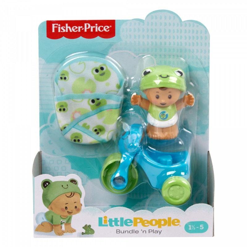 Fisher Price Little People - Bobas i rowerek Ośmiorniczka GKY42