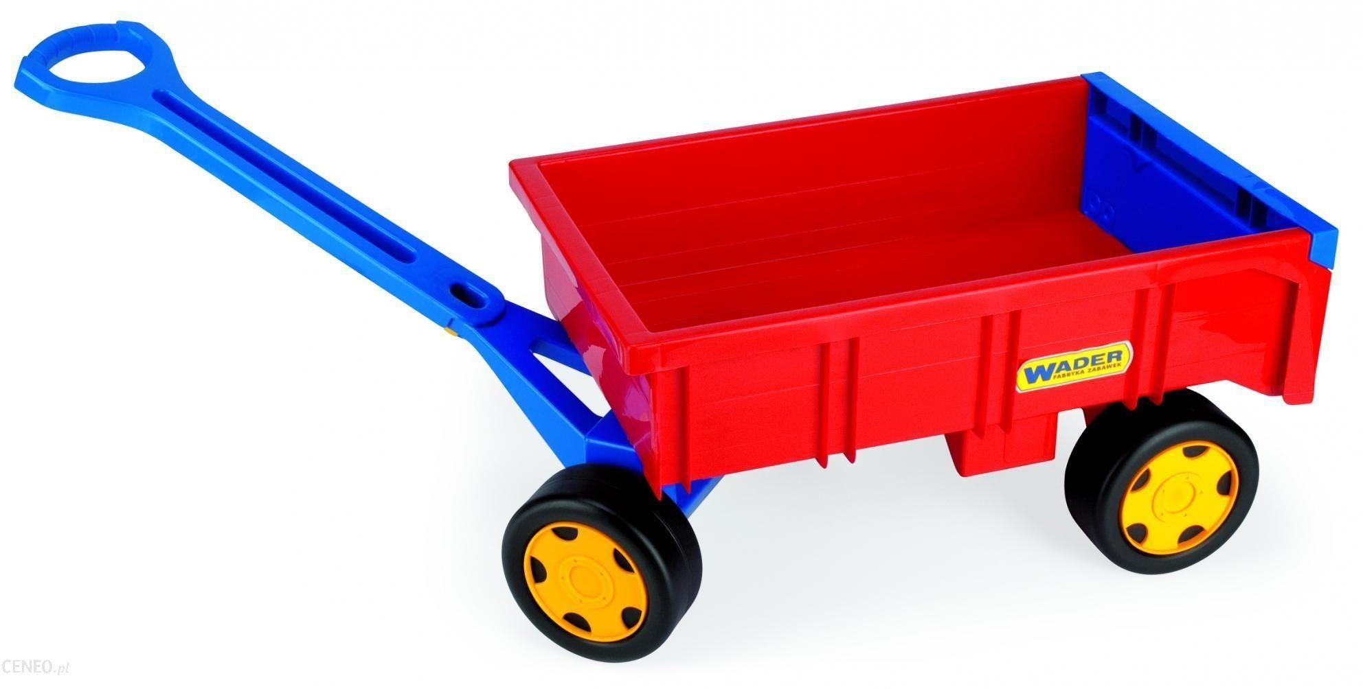 WADER Wózek - przyczepa dla dziewczynek 10955