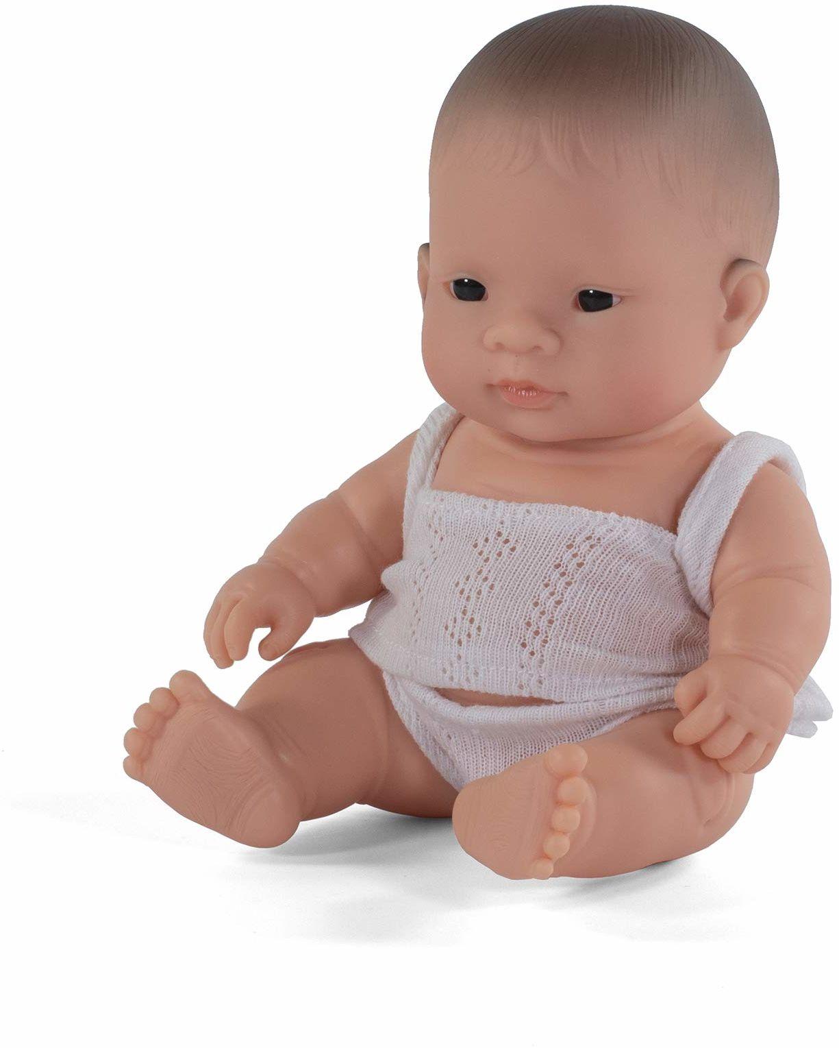 Miniland Miniland31125 lalka azjatycka chłopiec 21 cm 31125, wielokolorowa