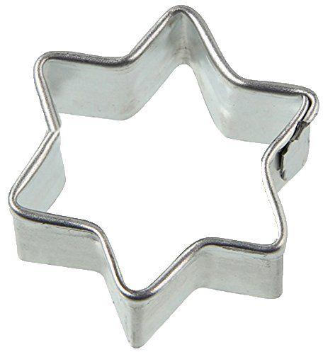 Zenker Foremka do wykrawania ciastek w kształcie gwiazdy 3,2 x 3,5 x 1,7 cm w kolorze srebrnym, ze stali nierdzewnej, 3,2 x 3,5 x 1,7 cm