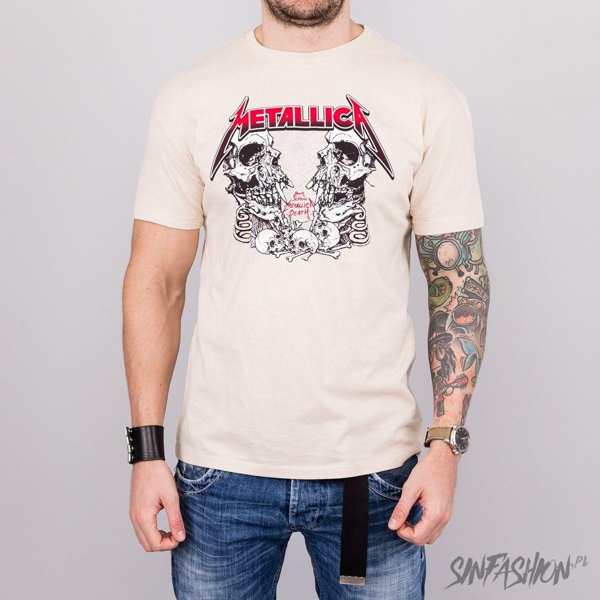 Koszulka amplified metallica birth skull