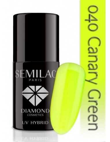 Semilac 040 Canary Green