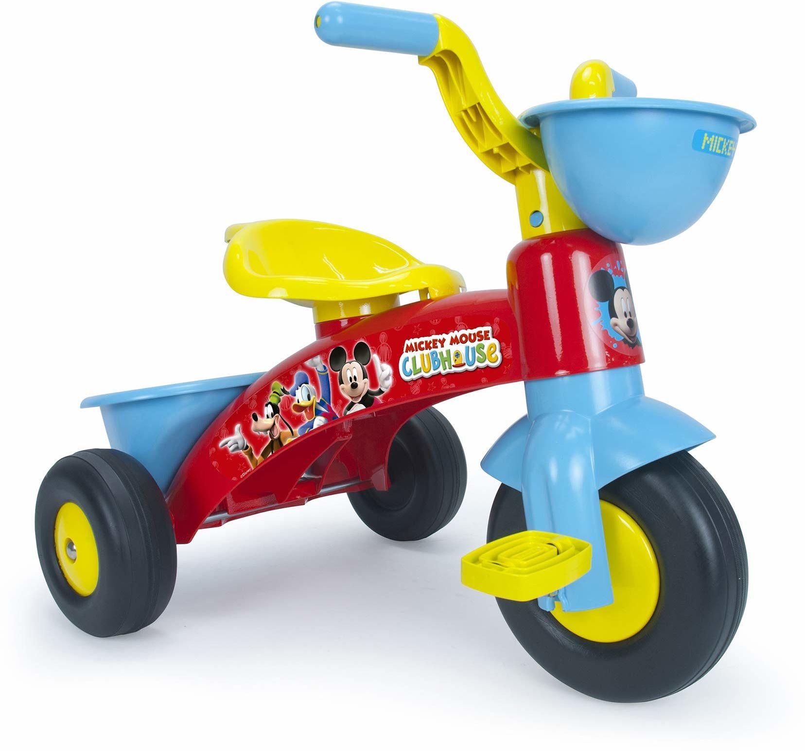 Giplam Rower trójkołowy 353 mm 60 x 40 x 43 cm (jeden rozmiar) Denver ''Ride on Pedal Car Disney Mickey Mouse '', wielokolorowy
