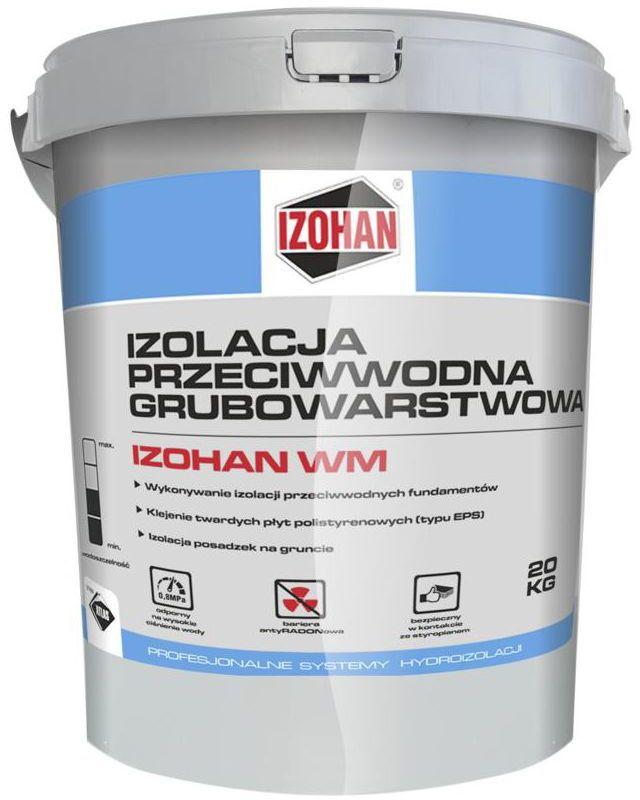 Izolacja przeciwwodna WM 20 kg IZOHAN