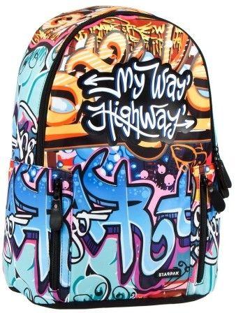 Plecak szkolny My Way STARPAK 429881