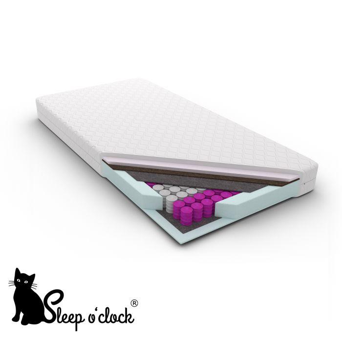 materac kieszeniowy pocket CLARA sleep o''clock 200x200 H2