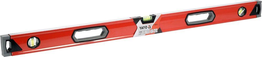 YT-30073 Poziomnica 1000mm 3 libelle