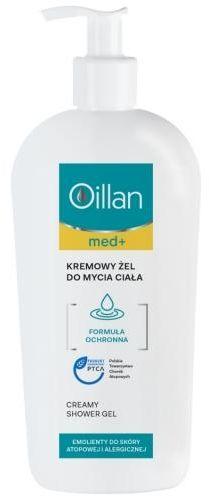 Oillan Med+ kremowy żel do mycia ciała 400 ml