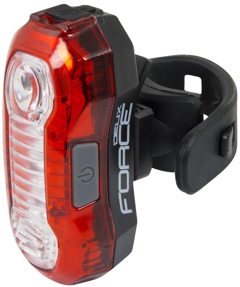 FORCE 45373 DEUX 5x led lampka rowerowa tył,8592627088254