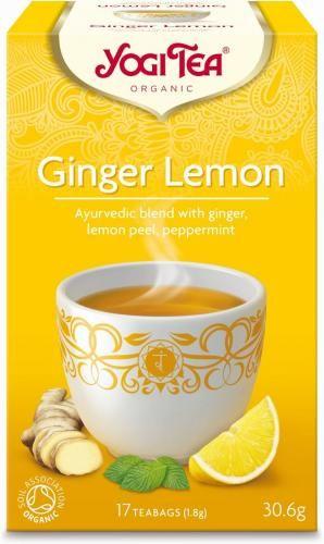 Herbatka IMBIROWO-CYTRYNOWA BIO (17 x 1,8g) Yogi Tea