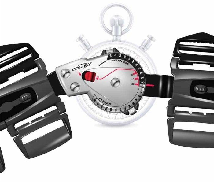 Innwacyjna orteza pooperacyjna - Donjoy X-ACT Knee (zegar)