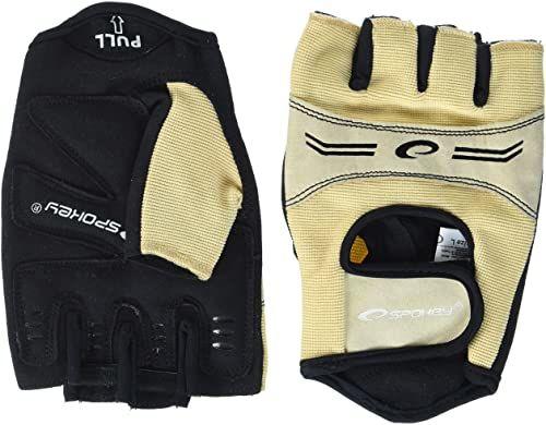 Spokey Unisex ELENA rękawice fitness, beżowe, duże