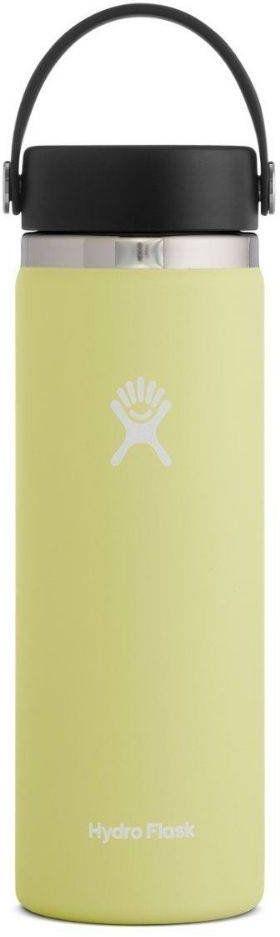 Butelka termiczna 591 ml Wide Mouth 2.0 Flex Cap Hydro Flask - pineapple
