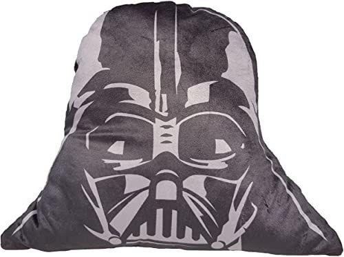 Daum - Pimp Up Your Life 16034 - Disney Star Wars poduszka kształtowa Darth Vader, pluszowa, 40 cm