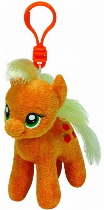 TY Pupilki Beanie Clip Boos My Little Pony Jednorożec AppleJack 11cm