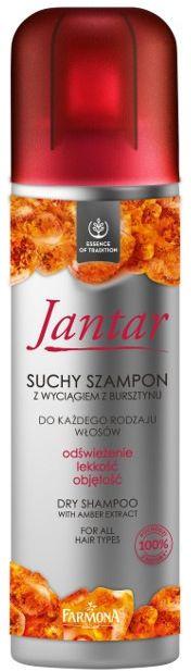 JANTAR Suchy szampon z wyciągiem z bursztynu 180ml