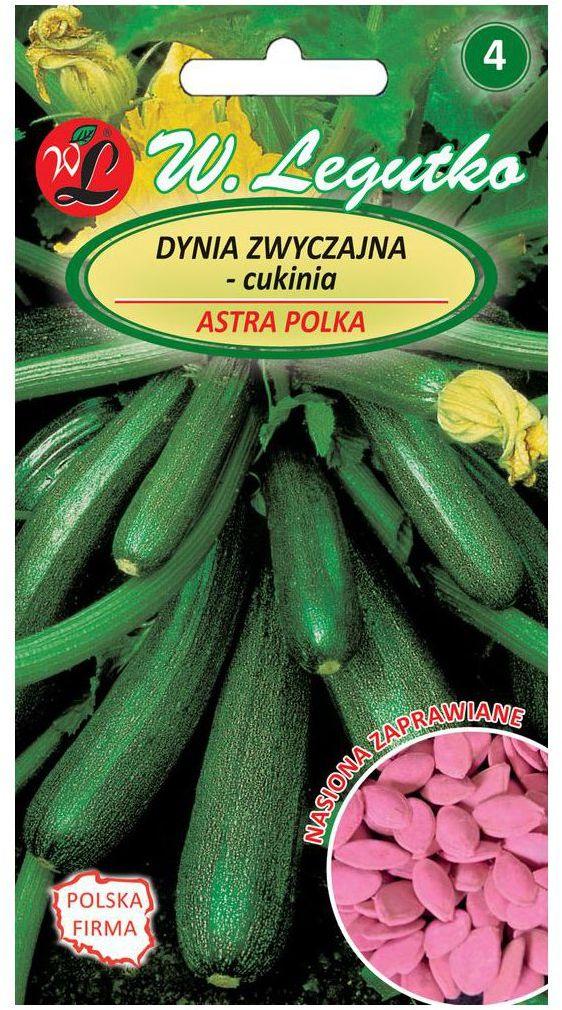 Dynia zwyczajna (Cukinia) ASTRA POLKA nasiona zaprawiane 3 g W. LEGUTKO