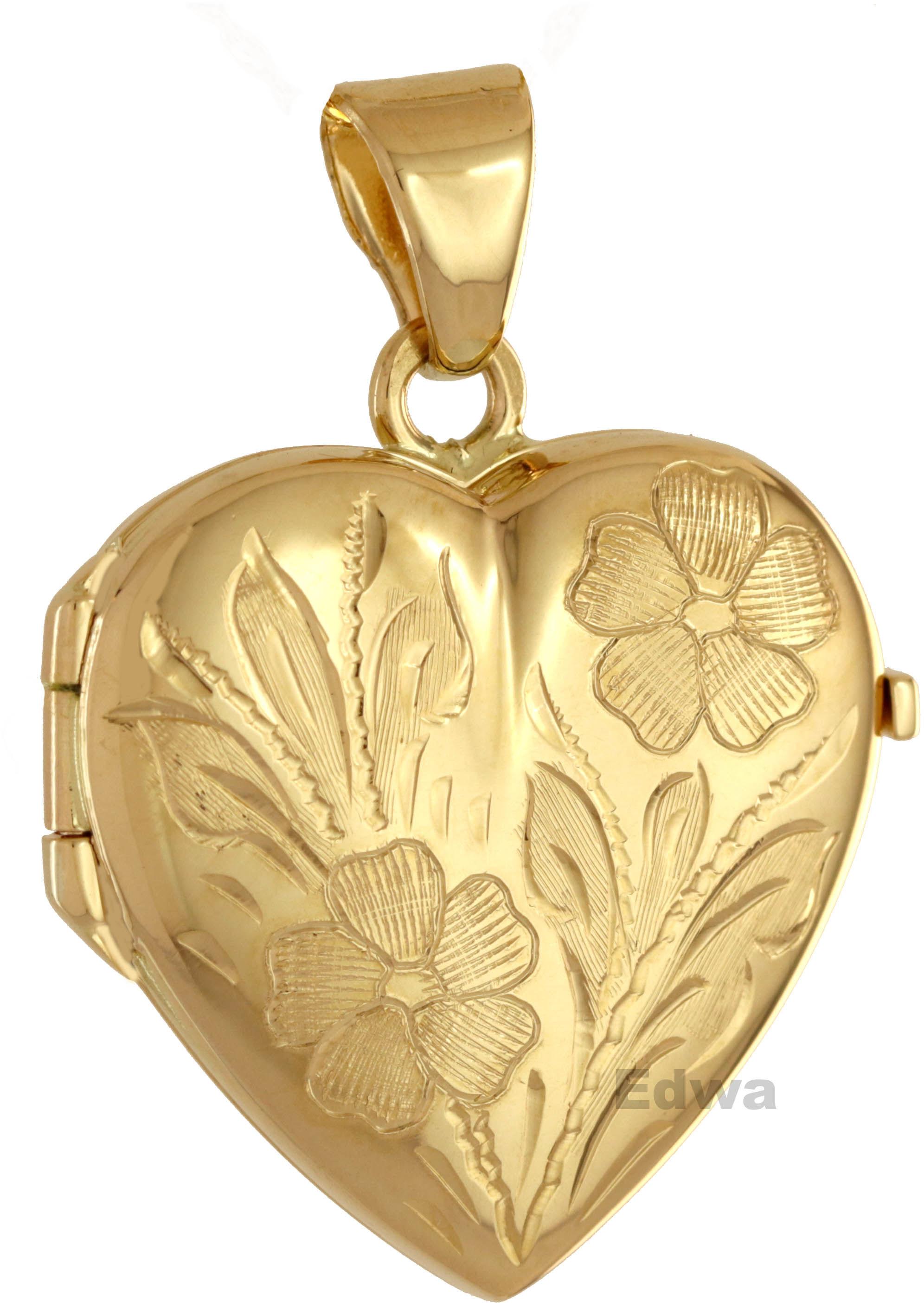 Zawieszka złota Medalion pr.585