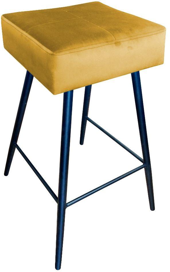 Hoker OLIMP VELVET żółty