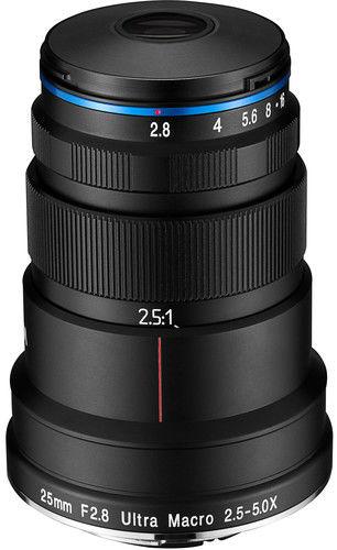 Laowa Venus Optics 25mm f/2.8 Ultra Macro - obiektyw stałoogniskowy do Canon RF Laowa Venus Optics 25mm f/2.8 Ultra Macro