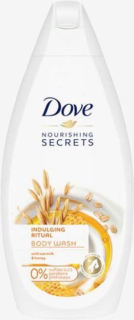 Dove Indulging Ritual Żel do mycia ciała z mlekiem owsianym i miodem 500ml