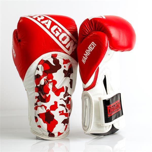 Dragon Sports rękawice bokserskie HAMMER czerwone