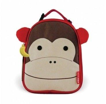 Skip hop - Lunchbox,lanczówka Pojemnik na Drugie Śniadanie Małpa