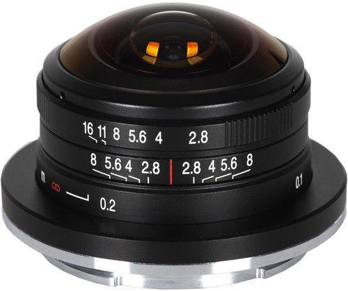 Laowa Venus Optics 4mm f/2.8 Fisheye - obiektyw stałoogniskowy do Sony E Laowa Venus Optics 4mm f/2.8 Fisheye