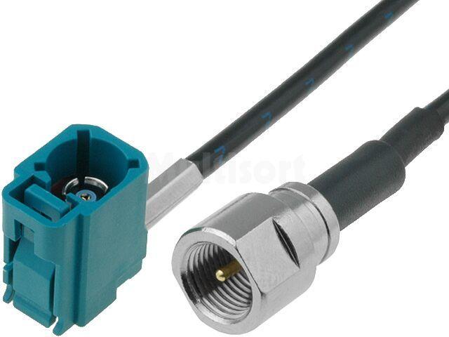 Adapter antenowy GPS FME B / Fakra kabel 0,15m