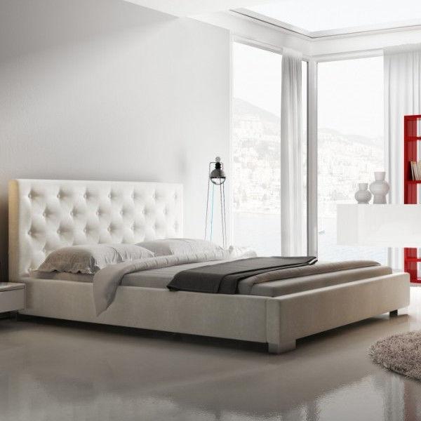 Łóżko LOFT NEW DESIGN tapicerowane, Rozmiar: 140x200, Tkanina: Grupa I, Pojemnik: Z pojemnikiem Darmowa dostawa, Wiele produktów dostępnych od ręki!