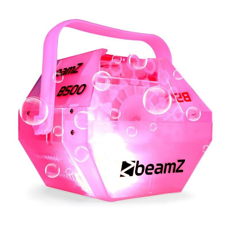 Beamz B500LED Wytwornica baniek mydlanych diody LED RGB