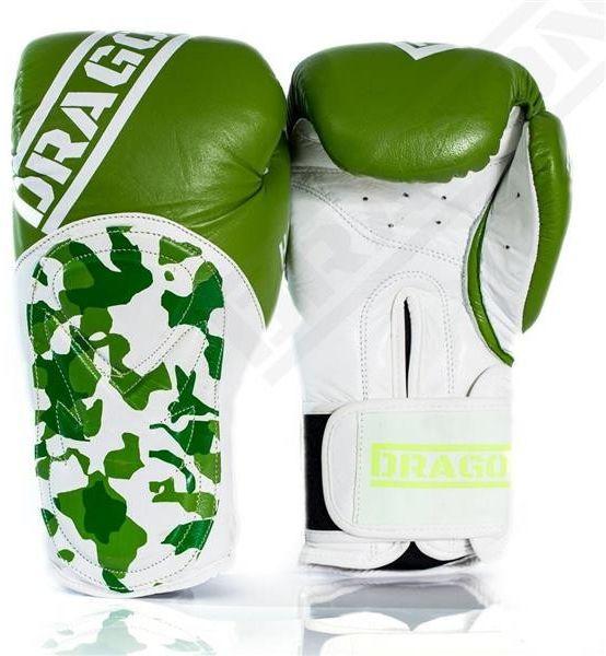 Dragon Sports rękawice bokserskie HAMMER zielone
