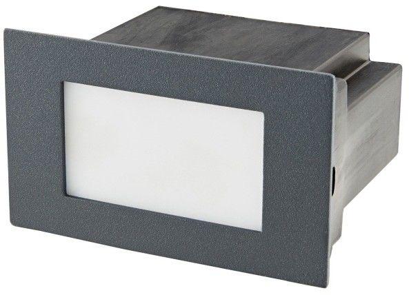 Lampa ogrodowa LED Blooma Neihart 4000 K srebrna